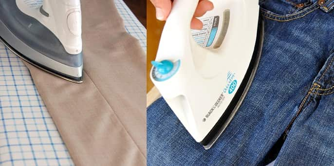 How To Iron Your Trousers Jeans