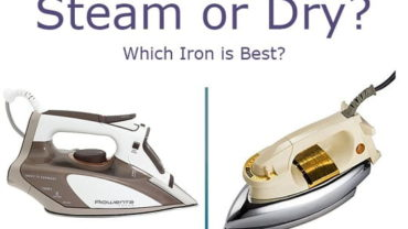 Steam Iron Vs Dry Iron